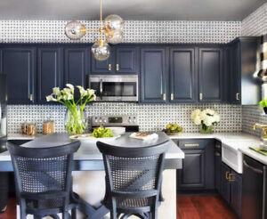 Top Shelf Kitchen Improvements Niagara Cabinet Painting Renovations