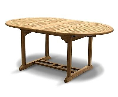 Oxburgh Extending Garden Table 1.2m to 3m - 6 styles - Grade-A Teak Dining Table