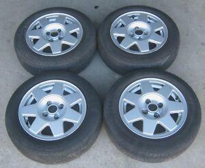 1 Satz original Alufelgen VW Golf 2 3 Passat 32B 35i 6x14 357601025C 191601025P