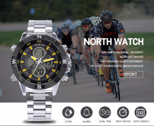 Men's Sport Watches Chronograph Multi-Functions