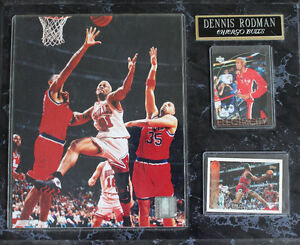 Rodman 8*10 with 2 cards. First $20 takes it. Free Delivery Windsor Region Ontario image 1