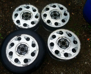 "VW MK2 14"" Alloy rims 4 pieces"