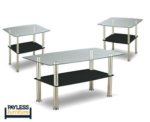 NEW ★ 3 piece coffee table sets ★ Can Deliver Kitchener / Waterloo Kitchener Area image 7