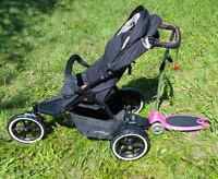Phil and teds navigator and freerider Mountain buggy