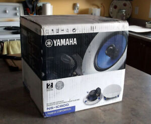 """In Wall/ Ceiling 8"""" Yamaha Speaker Pair  (NSIC800) BRAND NEW"""