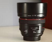 Lentille Canon L lens 50mm F1.2 lens et 40D  trépied cours