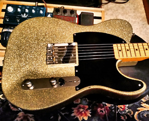 Heavily modded Squier CV telecaster (esquire)