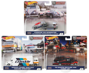 Hot Wheels Team Transport Skyline Van carry on (ONE SET OnLY)