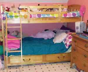 Wood Bunkbed For Sale