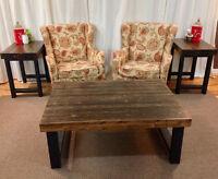 Handmade Wooden furniture & decor