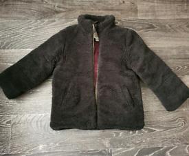 River Island Boys Borg Jacket size 28-24 Months