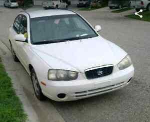 2002 Hyundai elantra (SOLD)