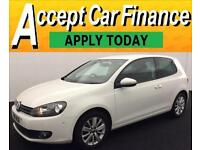 Volkswagen Golf 1.6TDI ( 105ps ) 2010MY Match FROM £41 PER WEEK !