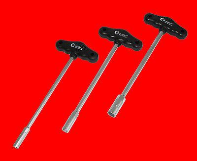 3 St. T-Griff Steckschlüssel Schraubendreher 8mm 10mm 13mm Schraubenschlüssel CD