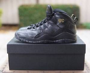 Air Jordan 10 NYC size 9 US Wilson Canning Area Preview