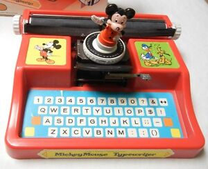 MICKEY MOUSE TYPEWRITER - WITH BOX - 1975 Windsor Region Ontario image 3