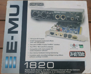 Audio interface EMU 1820