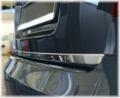 Heckklappe Leiste aus Edelstahl Hochglanz KONVEX für Mercedes CITAN W415 ab 2012