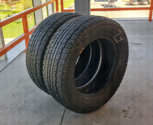 Set of two 205/65/15 Dunlop Graspic