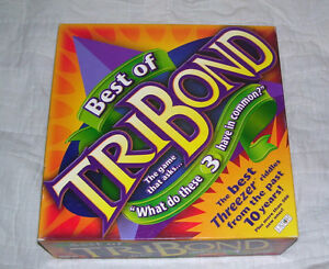 Best Of TRIBOND board game--2001 London Ontario image 1