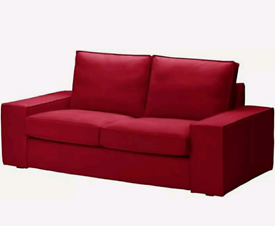 Ikea Kivik 2-seater COVERS ONLY - Dansbo Red- BRAND NEW NEVER USED