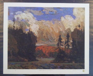 """Limited Edition """"Black Spruce in Autumn"""" by Tom Thomson Stratford Kitchener Area image 5"""