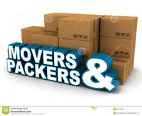 MOVERS AND PACKERS IN TORONTO AT SHORT NOTICE. ☎️ 647-785-7423