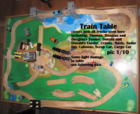 Thomas Train Table and trains