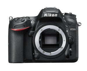 Nikon D7200 DX-Series Digital Body(Black)