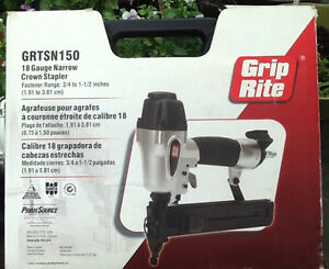 Grip Rite 18 Gauge Narrow Crown Stapler