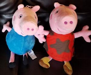 Peppa Pig & George Plush (15 inches tall) - $25
