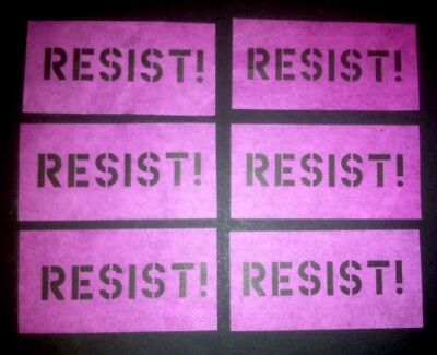 """ROGER WATERS PINK FLOYD  Us + Them """" RESIST """" PAPER CONFETTI From Concert Finale"""