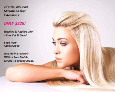 Hair extensions mobile  Auburn Auburn Area Preview