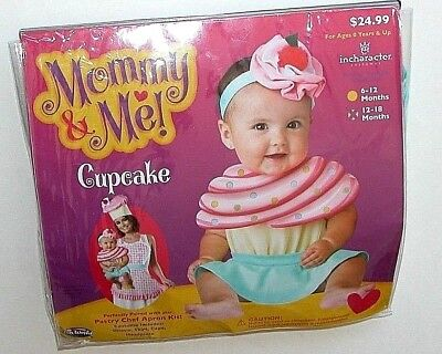 NWT NEW Halloween Costume Mommy & Me Baby Cupcake 12-18 mo](Baby Cupcake Halloween Costume)
