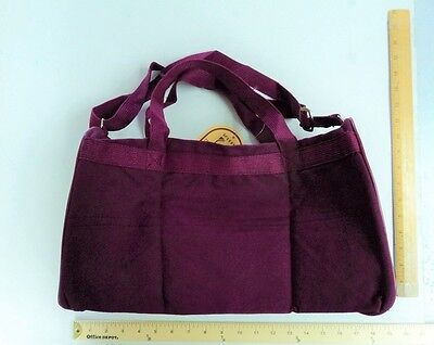 Burgundy Wine Canvas Square Duffel Tote Bag Purse Maroon GYM BAG - FLASH SALE](Canvas Tote Bags Cheap)