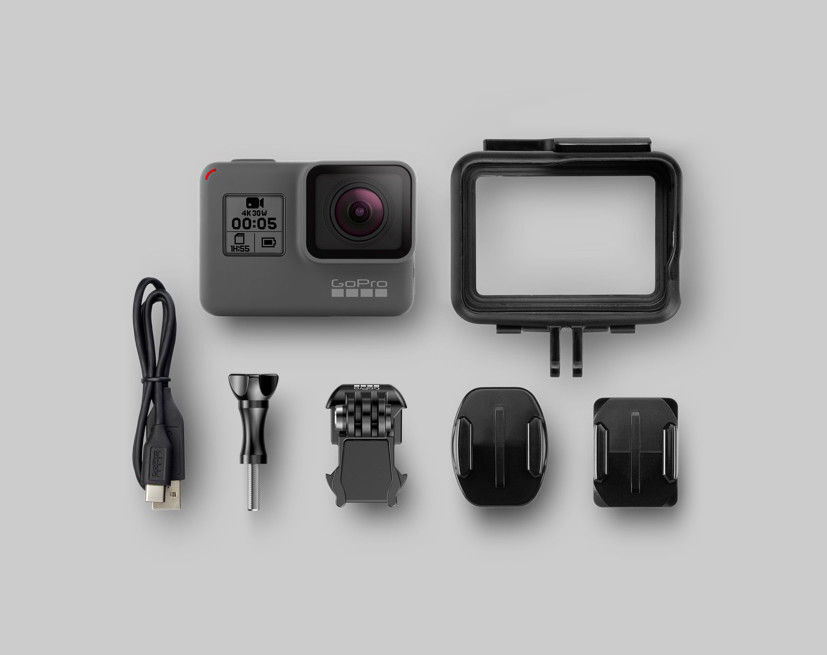GoPro Hero 5 HERO5 Black 12 MP 4K Camera CHDHX-501. Freeshipping!