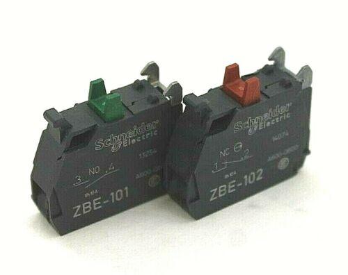 Schneider Electric ZBE-101 & ZBE-102 Contact Blocks