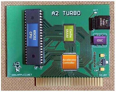 A2 Turbo accelerator for APPLE II, II plus and APPLE //e