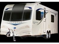 Bailey Pegasus GT65 Bologna Twin Axle Caravan For Sale Registered 2015 .