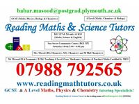 Reading Maths and Science Tutors