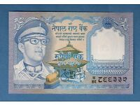 NEPAL ** 1 RUPEE BANKNOTE ** MOUNT EVEREST ** MINT UNCIRCULATED