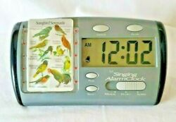 For the Birds Song Bird Serenade Singing Alarm Clock with Card and Batteries