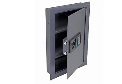 0.53 Cubic Ft. Digital Wall Mount Safe Home Gun Lock Box Security Keypad Office