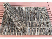 """I have 8 x Unusual Wooden/Twig Place mats, 19"""" x 13"""", They roll up for easy storage"""