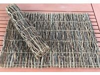 "I have 8 x Unusual Wooden/Twig Place mats, 19"" x 13"", They roll up for easy storage, £5 eac"
