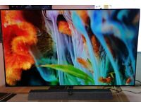 """2021 model PHILIPS Ambilight 65OLED935/12 65"""" Smart 4K Ultra HD HDR OLED TV with Google Assistant"""
