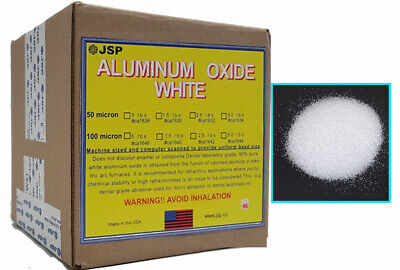 White Aluminum Oxide Powder 50 Micron 240 Grit 15 Lbsca1630