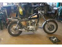 Xs650 chop rebuilt motor, road legal