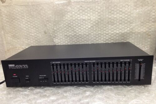 Yamaha GE-20 Natural Sound 10 Band Graphic Equalizer Stereo EQ 2Channel