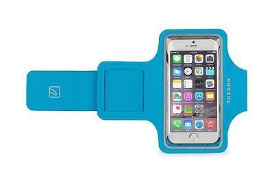 Tucano Neopren Sport Armband in Blau für Huawei P8 Lite